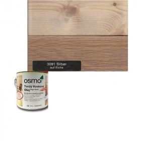 Tvrdý voskový olej barevný - 3091/ 0,75L -  Stříbrný