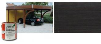 Ochranná olejová lazura na dřevo - 0,75 L / 712 EBENOVÉ DŘEVO