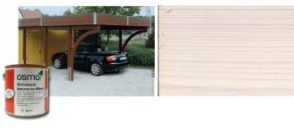 Ochranná olejová lazura na dřevo - 0,75 L / 900 BÍLÁ