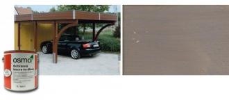 Ochranná olejová lazura na dřevo - 0,75 L / 903 ČEDIČOVĚ ŠEDÁ