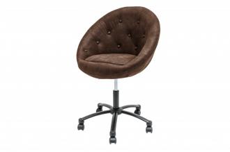 Pracovní židle COUTURE ANTIK COFFEE