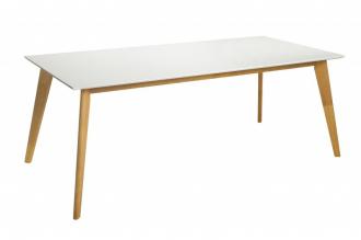 Jídelní stůl SCANDINAVIA 200CM WHITE, II. jakost