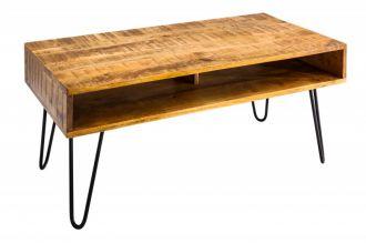 konferenční stolek MANTIS NATUR 100-CM masiv mango
