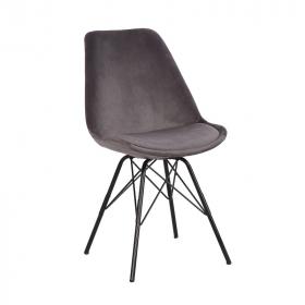Jídelní židle SCANDINAVIA SILVERGREY