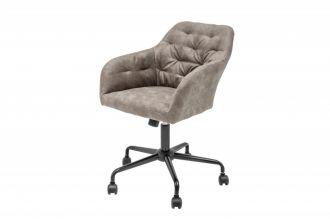 Pracovní židle DUTCH COMFORT taupe samet
