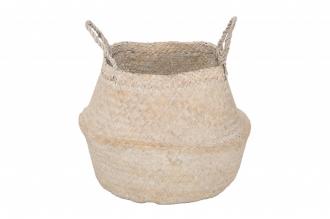 Skladový koš BAMBOO bílý