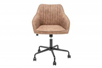 Pracovní židle TURIN béžovo-hnědá