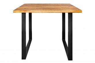 Barový stůl IRON CRAFT 120 CM NATUR, masiv mango
