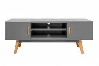 Televizní stolek SCANDINAVIA GREY 120CM