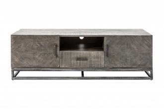 Televizní stolek INFINITY GREY 160 CM masiv mango