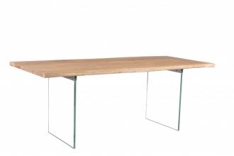 Jídelní stůl MAMMUT GLASS 200 CM masiv akácie