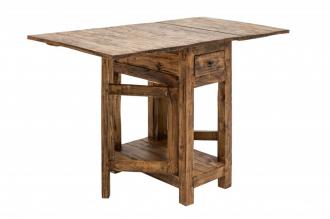 Skládací stůl HEMINGWAY 119 CM masiv mahagon