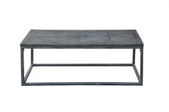 Konferenční stolek INFINITY 120 CM GREY masiv mango