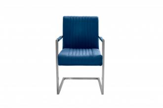 Jídelní židle BIG ASTON modrá