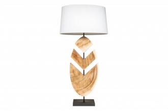 Stolní lampa ORGANIC 91 CM masiv ořech