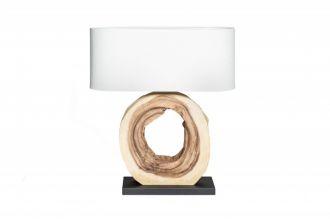 Stolní lampa PURE NATURE 55 CM masiv ořech