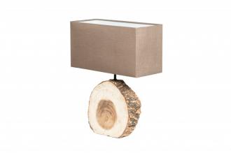 Stolní lampa PURE NATURE 46 CM masiv ořech