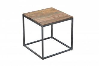 Odkládací stolek BARRACUDA 40 CM masiv recyklované dřevo