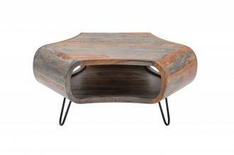Konferenční-odkládací stolek ORGANIC 70 CM masiv sheesham