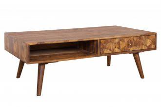 Konferenční stolek MYSTIC 110 CM masiv sheesham