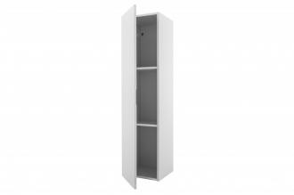 Závěsná skříňka vysoká SUPREME 120 cm bílá s vysokým leskem