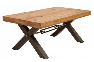 Konferenční stolek THOR NATURE 110 CM masiv divoký dub