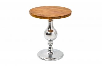 Odkládací stolek EXTRAVAGANCIA 51 CM masiv mango