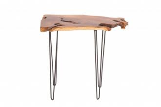 Odkládací stolek WILD 95 CM NATURE masiv teak