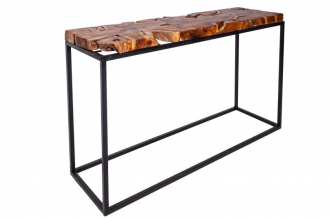 Konzolový stolek WILD ROOT 115 CM masiv teak