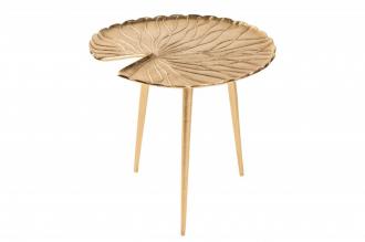 Odkládací stolek GOLD LEAF 40 CM