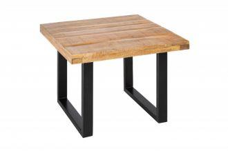 Konferenční stolek IRON CRAFT 60 CM masiv mango