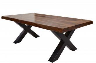 Konferenční stolek AMAZONAS X 110 CM masiv sheesham