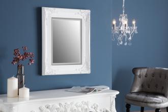 zrcadlo SPECULUM WHITE 55/45-CM