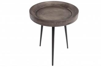 Odkládací stolek PURE 45 CM masiv akácie GREY