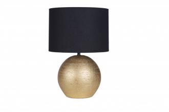 Stolní lampa ELEGA 45 cm černo-zlatá