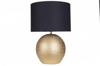 Stolní lampa ELEGA 57 cm černo-zlatá