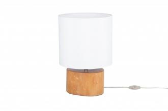 Stolní lampa PURE 35 CM masiv mahagon