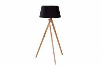 Stojací lampa TRIPOD 155 CM černá