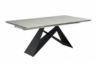 Jídelní stůl PROMETHEUS 180-260 cm CEMENT rozkládací