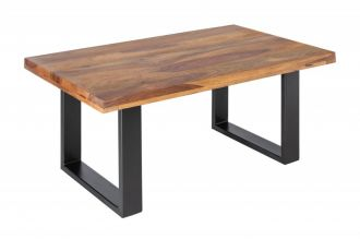 Konferenční stolek IRON CRAFT 100 CM masiv sheesham
