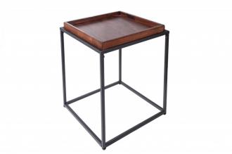 Odkládací stolek ELEMENTS 40 CM buková dýha