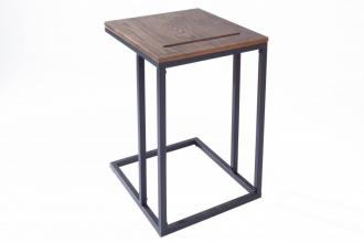 Odkládací stolek ELEMENTS TABLET 43 CM dubová dýha