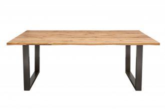 Jídelní stůl LIVING EDGE 200 CM masiv divoký dub