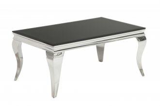Konferenční stolek MODERN BAROCCO 100 CM černý