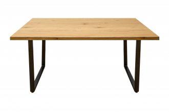 Jídelní stůl LOFT 140 CM dubová dýha