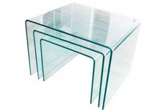3SET konferenční stolek GHOST