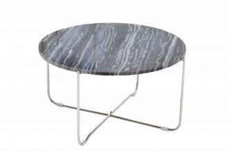 Konferenční stolek NOBLES 62 CM šedý mramor