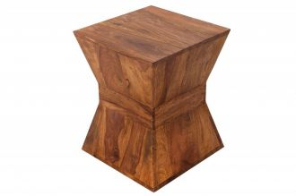 Odkládací stolek PYRAMID 45 CM masiv sheesham