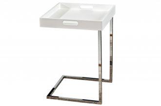 odkládací stolek CIANO WHITE