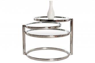 odkládací stolek ART DECO 3SILVER
